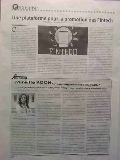 Fevrier 2018 (Le Financier d'Afrique)