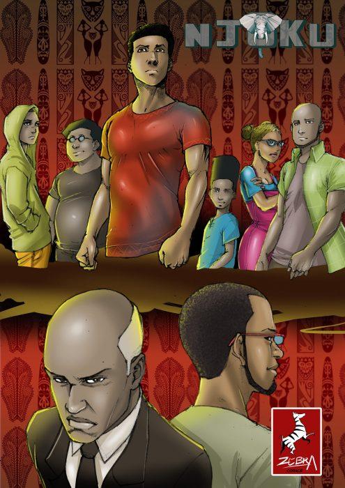 Comics by Zebra Comics courtesy of EN JoB