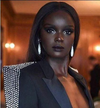 Top Black super-model