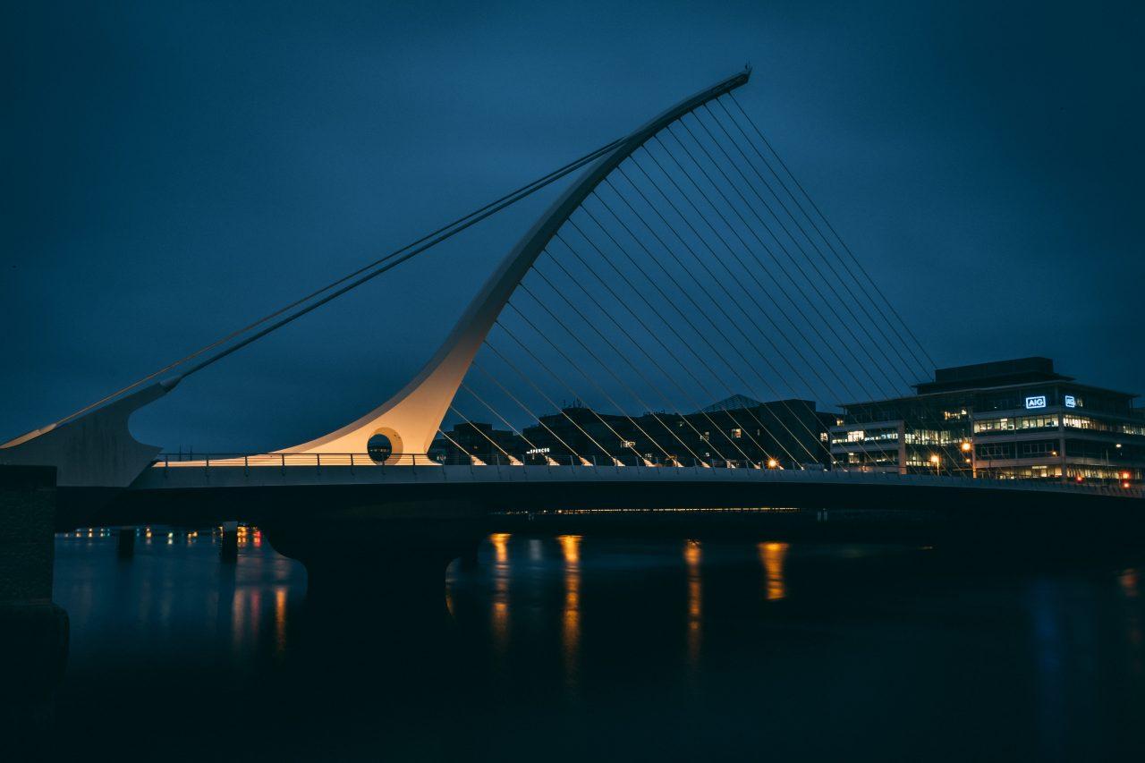 Waiting for #Godot Bridge in #Dublin Ireland