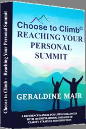 Geraldine Mair's book cover